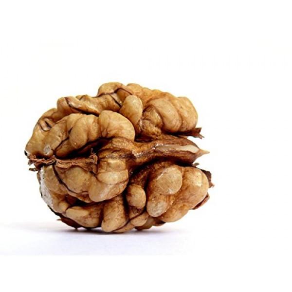 Organic Whole Walnuts Kernels – Gola Top Quality (250gms X 4) 1 kg