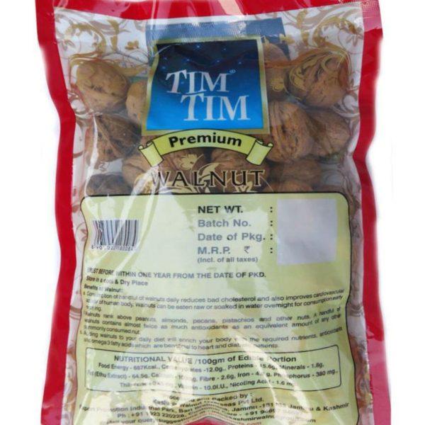 Tim Tim Premium Walnuts Inshell-500g