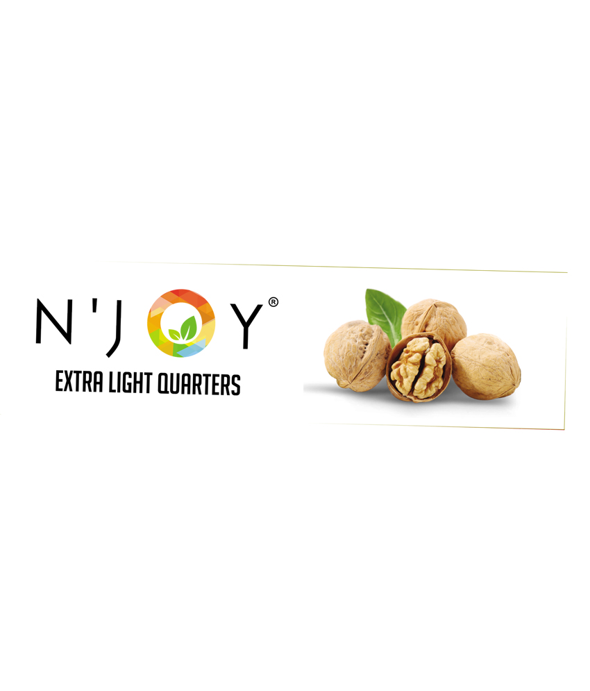 N'Joy Natural Extra Light Quarters Walnuts Kernels 250 Gm (pack of 4)