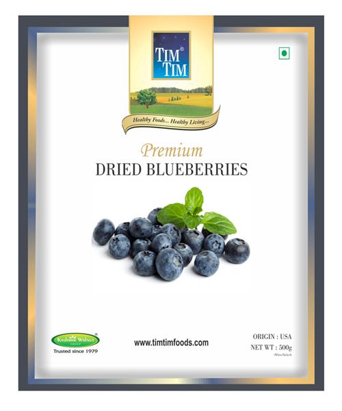 Vegetarian cuisine - Blueberry